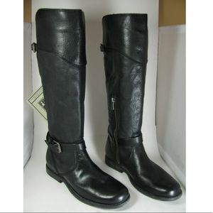 Frye black Phillip leather riding boots Size 8